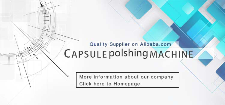 Small high quality pill polisher machine