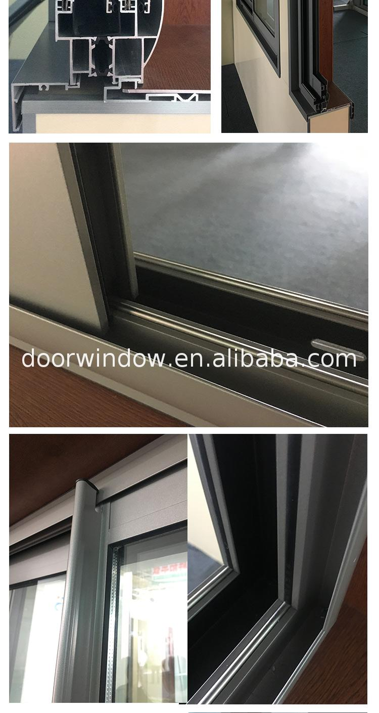 Factory hot sale single slider window sealing aluminium windows schuco