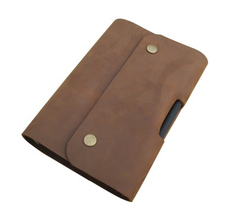 fe85ea0dd29c Unique Leather Bound Journal Personalized Bulk Spiral Notebooks,Refillable  Leather Mens Journals Line Brown Kraft Paper Diary. - Buy Bulk Spiral ...