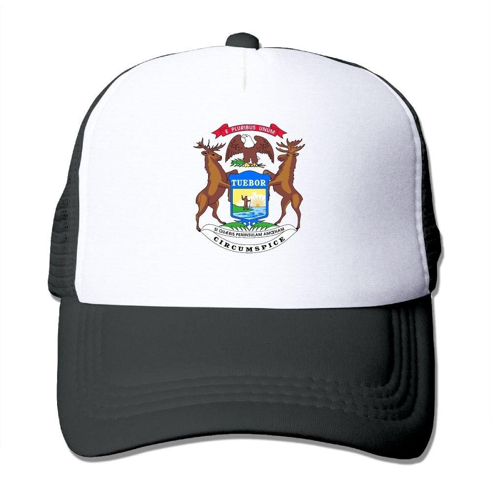 detailing d4aec 45461 Get Quotations · Adult Michigan Flag The Adjustable Snapback Cap