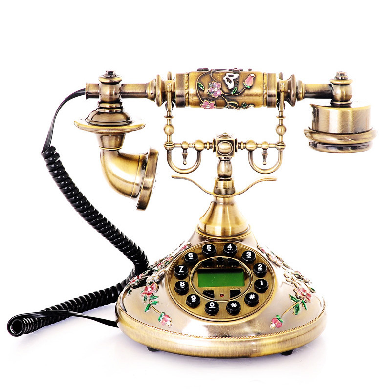 Luxury House With Phone With: Wholesale Caller Id Phone Zinc Alloy Luxury Antique