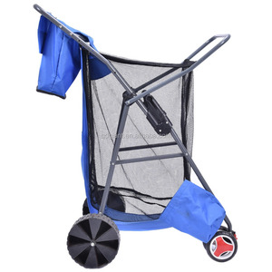 Beach fishing cart/folding collapsible wagon