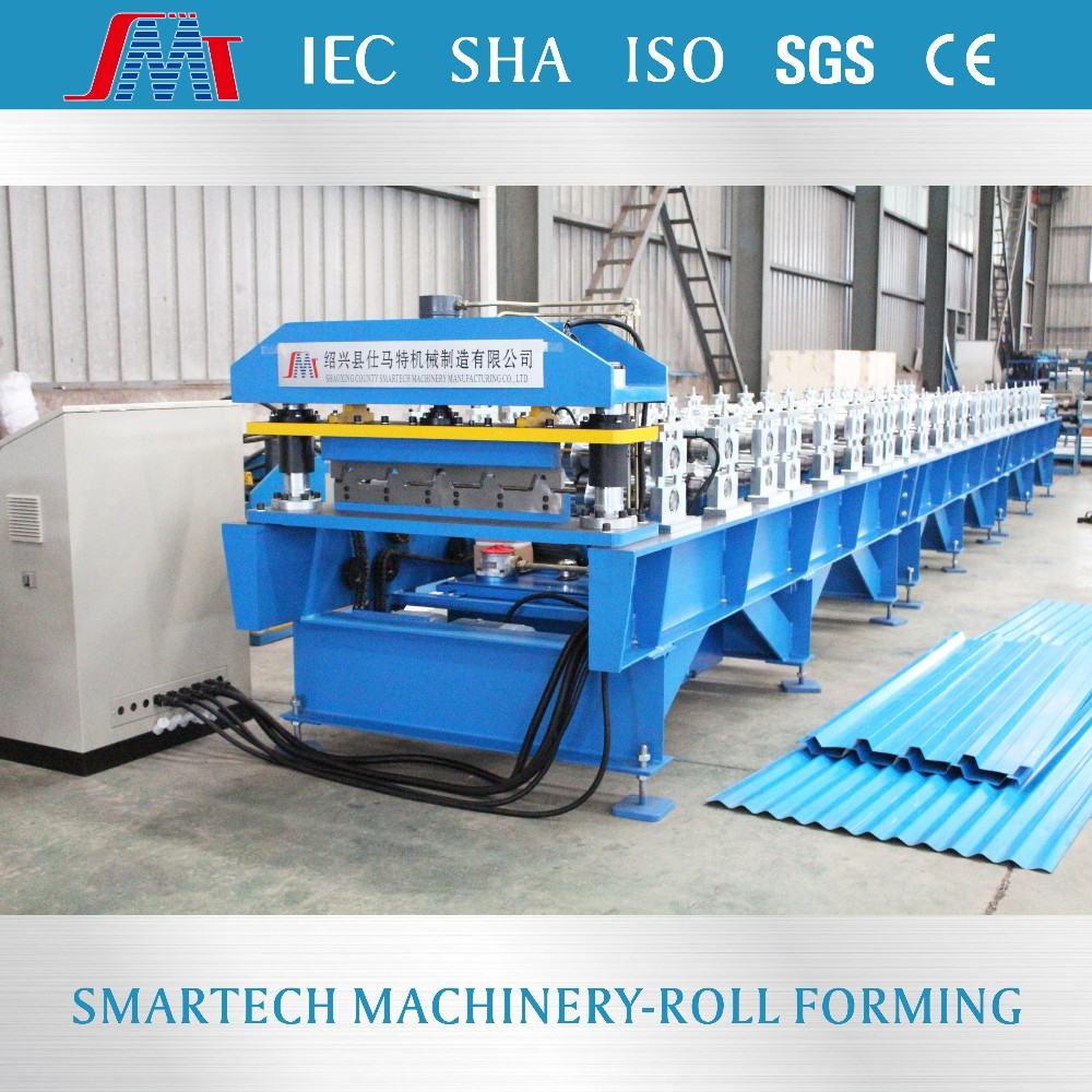 Hot sale steel ibr roof profile sheet cold roll forming machine