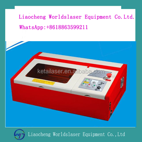 The latest Mini Laser Engraving Machine with low price laser wood carving machine 40w/50w 3020