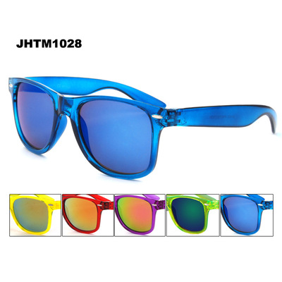 ZOGIFT Cheap fashion sunglasses colorful plastic frame UV400 polarized sunglasses