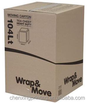 Design Paper Corrugated Carton Electronic Products Moving Storage  Corrugated Brown Packing Boxes   Buy Wrapping Paper Storage Box,12x12  Storage ...