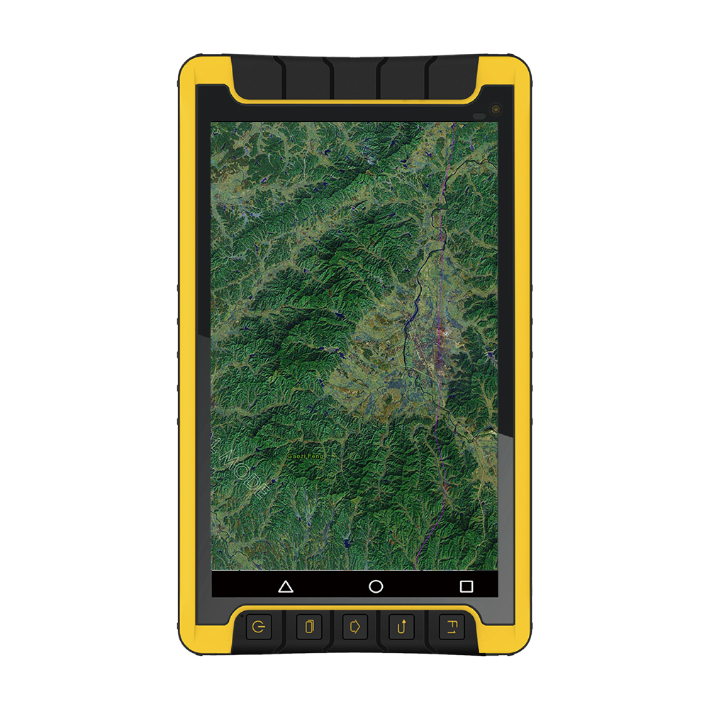 Rugged Tablet gis data collection BHC GISA P50 glonass gps receiver for tablet