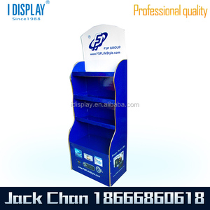 Hot sale floor stand point of purchase display rack Point of Sale Display Stand of Clothing Shop