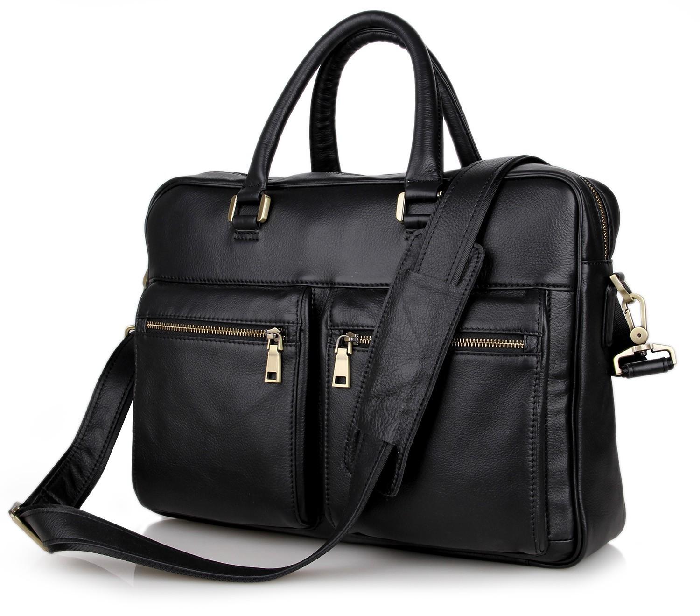 e464ddc7dd Get Quotations · Business Men Leather Laptop Tote Bags Man Crossbody Bag  Men s Messenger Travel Briefcases Bags Mens Handbag