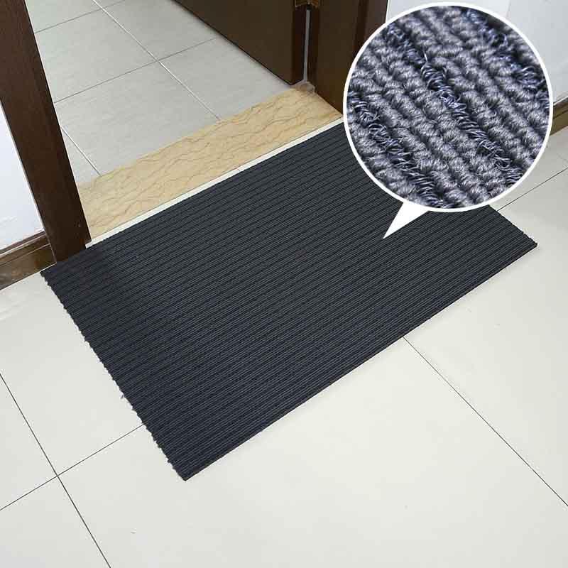 Venta al por mayor de cojín polvo suciedad trampa felpudo entrada alfombra mat con pp monofilamentos alfombra estera de puerta alfombra piso alfombra