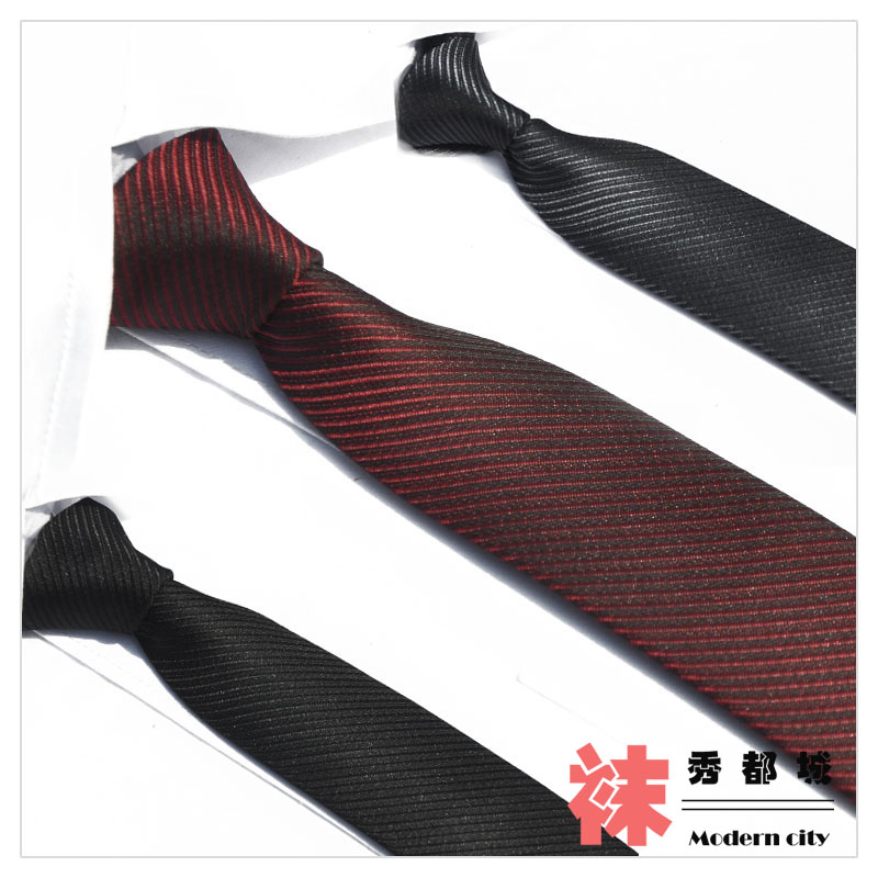 Tie quality fashion male money tie narrow the groom married commercial casual tie