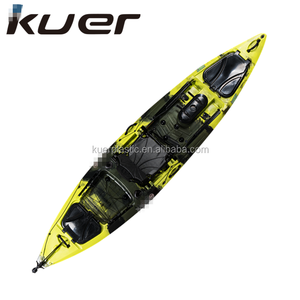 Cheap sit on top china sea wholesale pedal fishing kayak