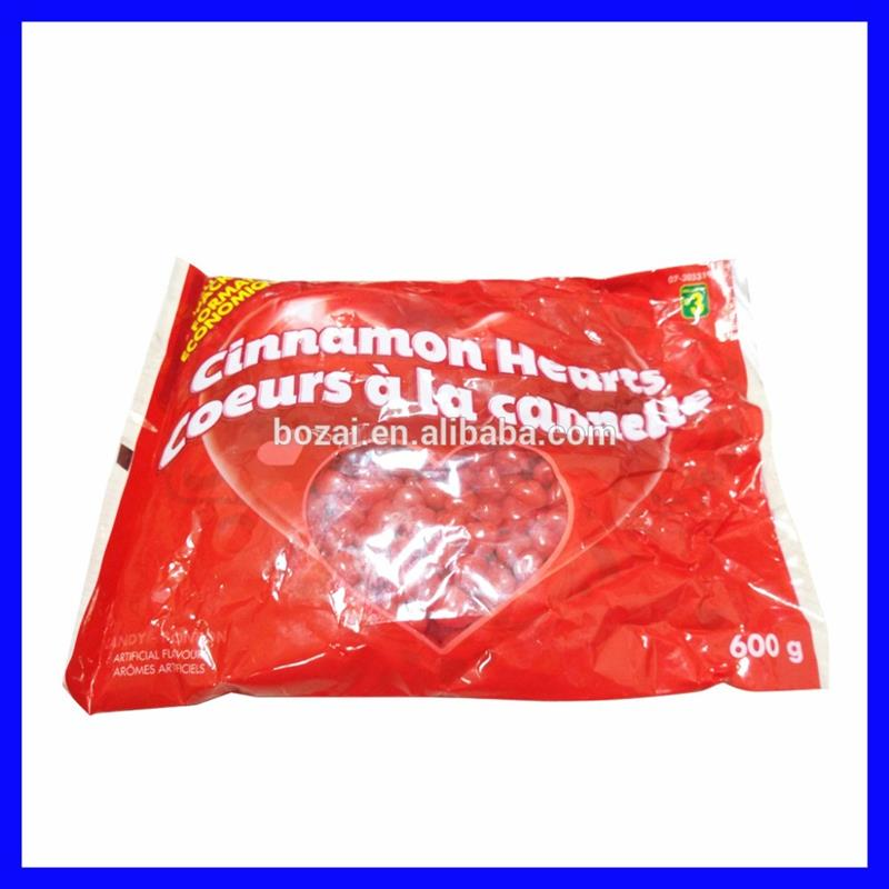 heart shaped red cinnamon hard candy with light up stick