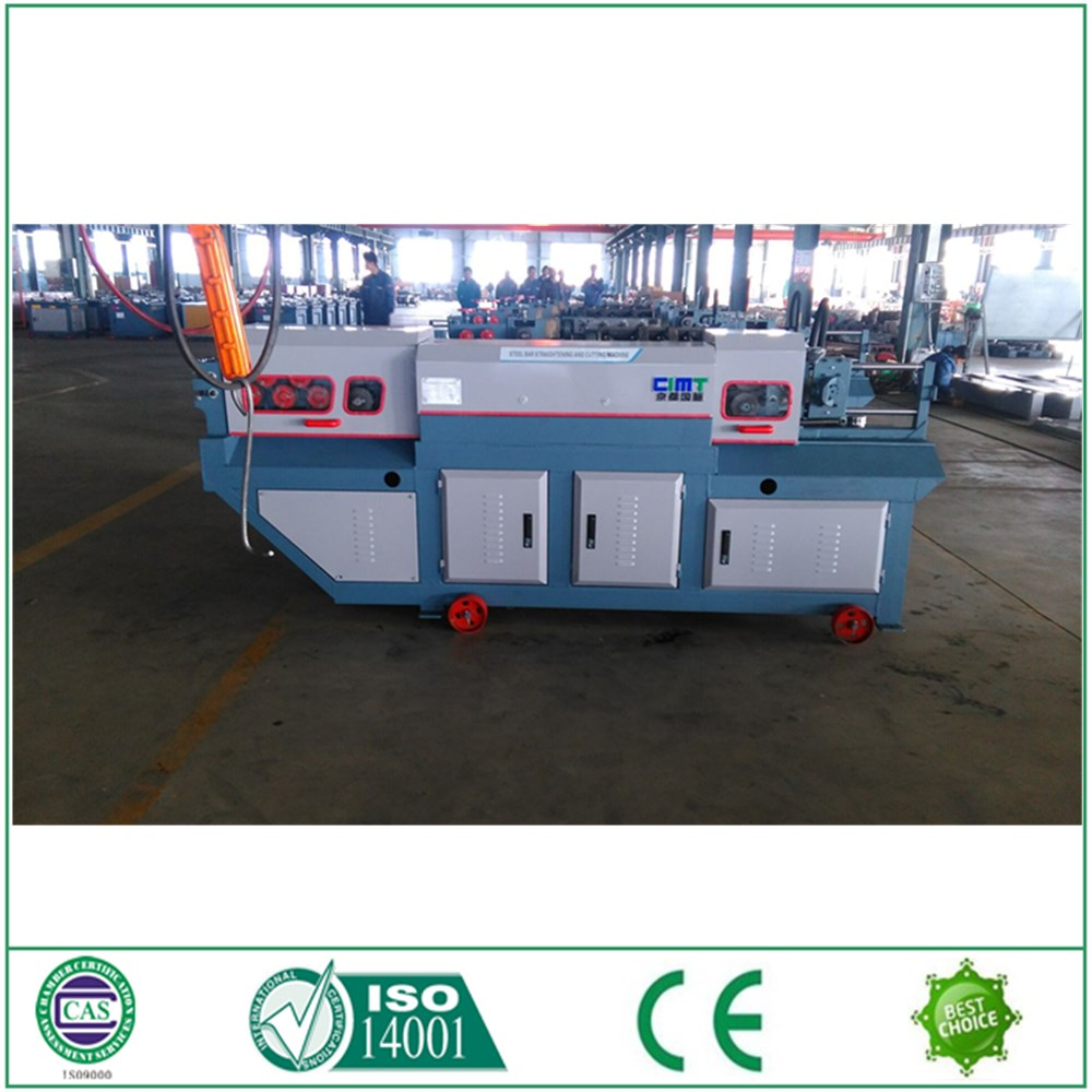 CNC automatic round bar rebar straightener and cutter for sale