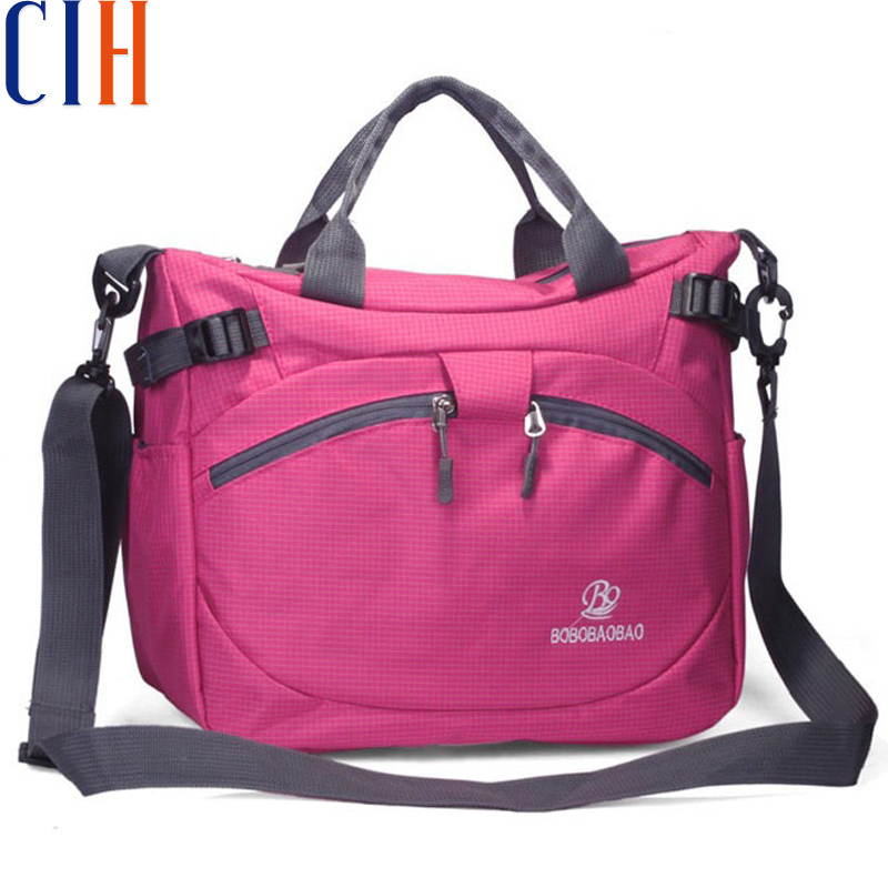 Charm in hands! 2015 waterproof nylon new arrival women's messenger bag & women's travel bags sport style good quality LM1581