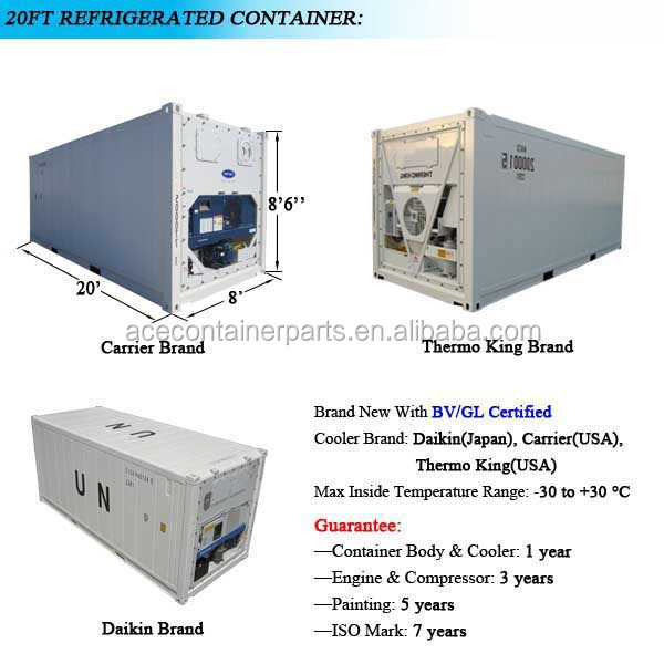 Multi Temperature Refrigerated Container System Reefer