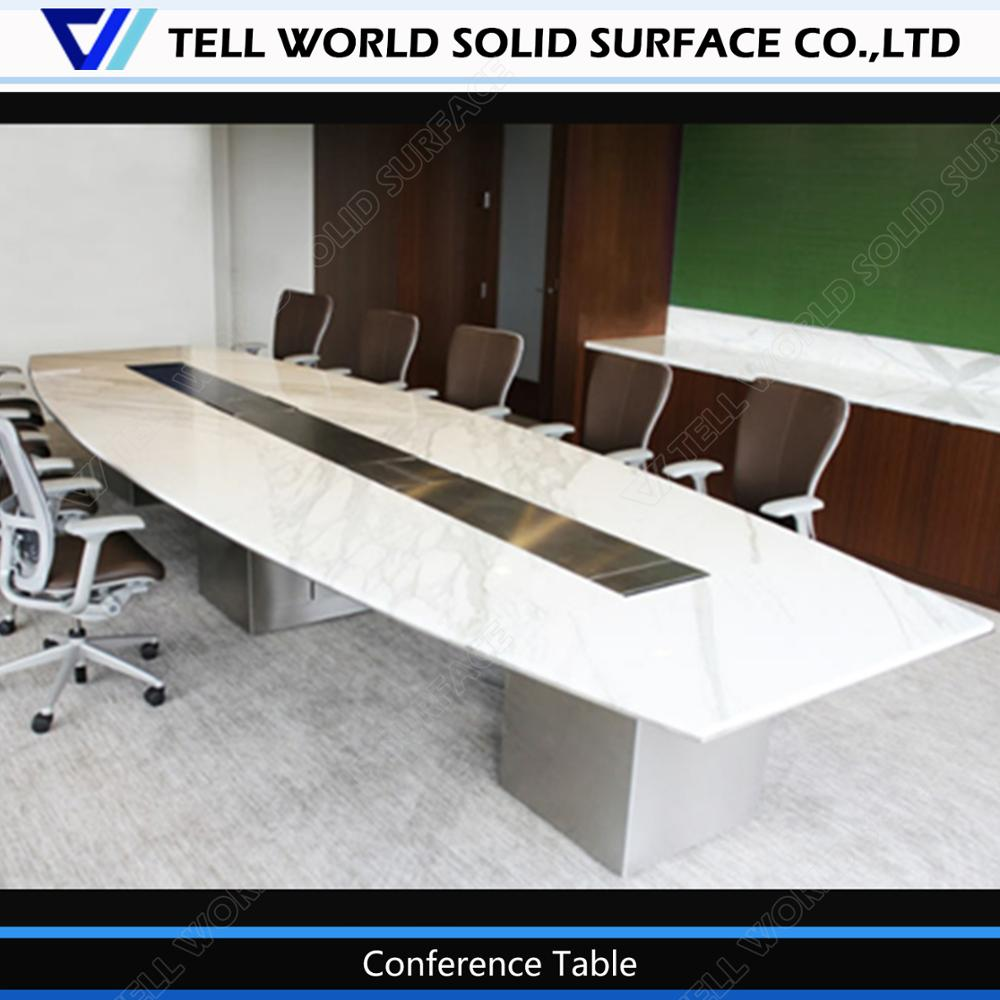 office conference table design. Luxury Office Table Design Top Quality Marble/quartz Conference