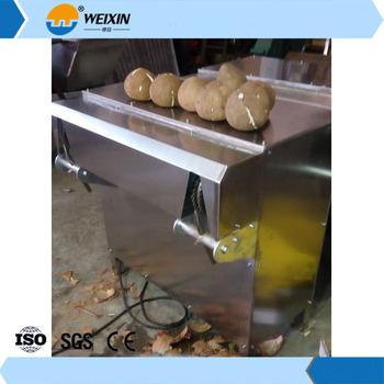 coconut deshelling machine price