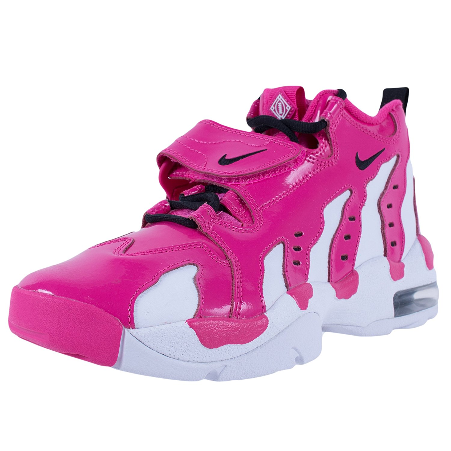 fed7a45bef1c Get Quotations · NIKE YOUTH AIR DT MAX '96 GS CROSS TRAINERS VIVID PINK BLACK  WHITE 616502 601