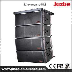 Outdoor full frequency sound system tw audio rcf line array speaker packing  in box