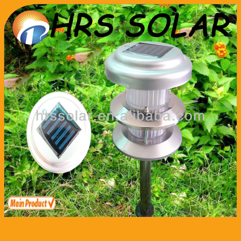 CE, ROHS, Alminum Garden Light New Design, solar lawn light news