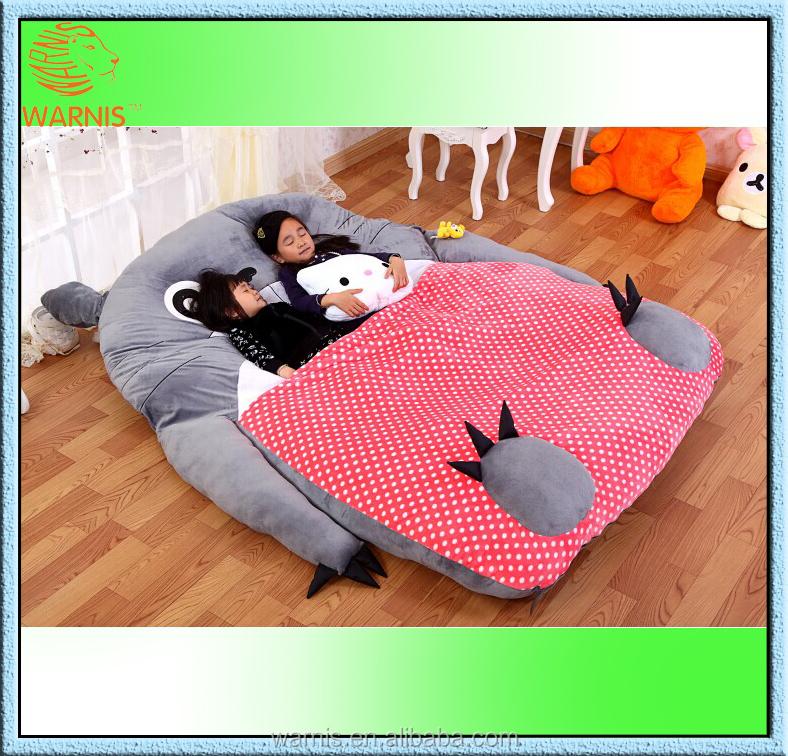 m m cama sof silla tatami totoro de peluche para dormir piso colchn