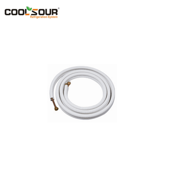 Coolsour Factory price high quality cheap Air Conditioner Insulated Copper Tube Pipe , Refrigeration Parts