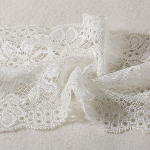 New English Style Good Price Popular plaid fabric lace