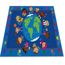 Childrens Large Girls Boys Bedroom Playroom Square Mat Carpets Kids Play Fun Area Rugs