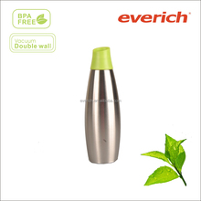 350ml 650ml stainless steel insulated water bottle