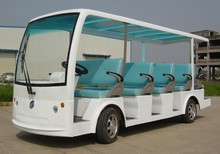China best environmental electric sightseeing bus 14 seats for sale
