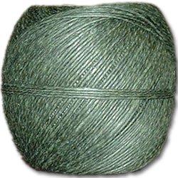 Green Hemp Twine 20 lb. (±1mm) Polished 100g Ball
