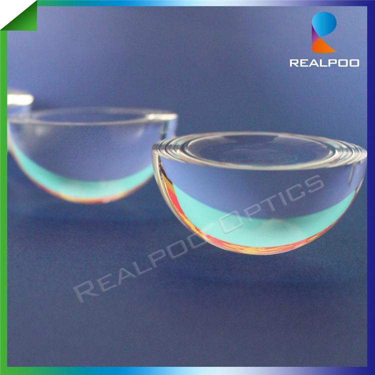 Diameter 1.5mm optical glass N-BK7 half ball lens