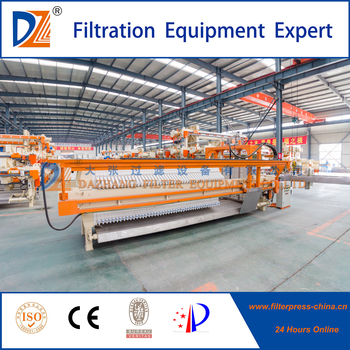 Municipal Sewage Filter Press With auto-cloth washing