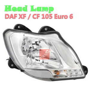 1835874 Head Lamp, Left FOR DAF XF / CF 105 Euro 6