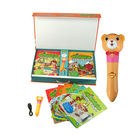 Color Printing Educational Language Growing up Books with Talking Smart Pen for Kids Studying English
