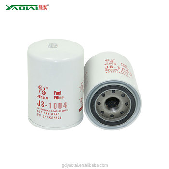 Fuel Filter Element Replacement For FLEETGUARD Excavator Parts 600-311-8293  FF105 P550105 FC-5606 BF1248, View fuel filter FF105, YAOTAI Product  Details from Guangdong Yaotai Filter Technology Co., Ltd. on Alibaba.comGuangdong Yaotai Filter Technology Co., Ltd. - Alibaba.com