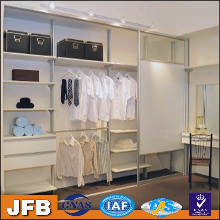 Schlafzimmer Schrank Regal System Aluminium Kleiderschrank ...