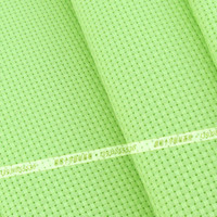 green color 11CT 100 % cotton cross stitch fabric DIY craft materials Hand Made embroidery fabric 150cm cross stitch kits
