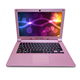 11.6 inch Ultra slim low price Gold or pink color mini laptop