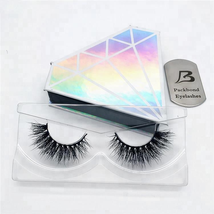 f3059513076 2018 Luxury customized lash box diamond shape Own brand premium real  siberian 3D mink eyelashes, View 3D mink eyelashes, PB Product Details from  Qingdao ...