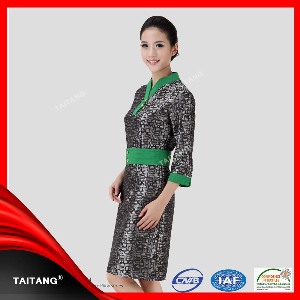 Gaya busana elgant spa seragam digunakan di hotel salon for Spa uniform indonesia