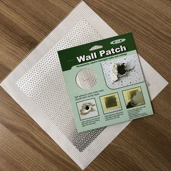 fiberglass repair wall patch with aluminum metal board 2/4/6/8inch size