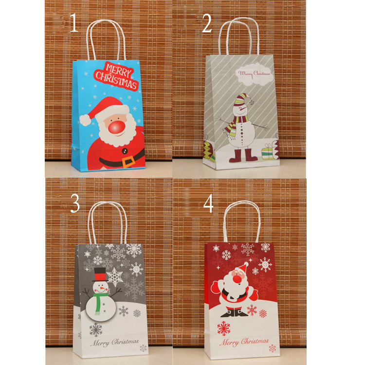 2015 Custom Christmas Stocking Paper Bag China Suppliers