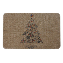 Best Supplier Durable Merry Christmas Series Natural Rubber Carpet