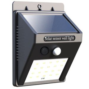 Wall Mount LED outdoor lighting Motion Sensor solar security light outdoor night lamp