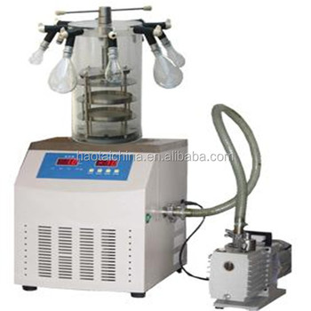 High Frequency Food Vacuum Freeze Dryer With Lcd Display Dryer Machine/ Lab  Vacuum Freeze Dryer With Best Price - Buy High Quality Mini Freeze Dryer