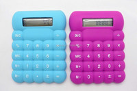 Small Size of 8 Digits Silicone Calculator