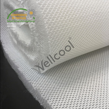100% polyester 3d spacer air mesh fabric for car seat cover,mattress, pillow