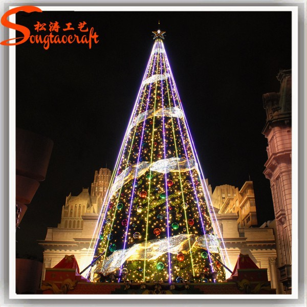 What Kind Of Christmas Decorations Are Used In Spain : Chino decoracion arbol de navidad artificial giant led